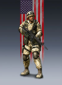 Battlefield 2 most played army/kit: US Marines Medic