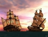 Pirates of the Caribbean Online, shipsatsea.jpg