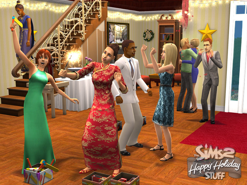 The Sims 2 Festive Holiday Stuff