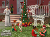 The Sims 2 Festive Holiday Stuff, sims2hspcscrnelvesoutsidewm.jpg