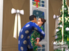 The Sims 2 Festive Holiday Stuff, sims2hspcscrnmistletoe2wm.jpg