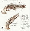 Warhammer Online: Age of Reckoning - Artwork, dw_weapons_pistol.jpg