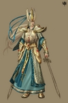 Warhammer Online: Age of Reckoning - Artwork, he_armor_swordmaster_t4color.jpg