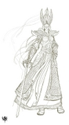 Warhammer Online: Age of Reckoning - Artwork, he_armor_swordmasterfemale_t4.jpg
