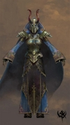 Warhammer Online: Age of Reckoning - Artwork, m_war___career___chaos_magus___female_t3.jpg
