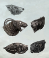 Warhammer Online: Age of Reckoning - Artwork, modelsheet_skaven_headvariants.jpg