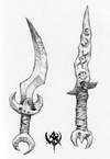 Warhammer Online: Age of Reckoning - Artwork, or_weapons_daggers1.jpg