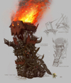 Warhammer Online: Age of Reckoning - Artwork, orc_siege_tower.jpg
