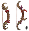 Warhammer Online: Age of Reckoning - Artwork, orc_weapons_bows1.jpg