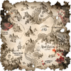 Warhammer Online: Age of Reckoning - Artwork, orc_zone___bloodhorn_map.jpg