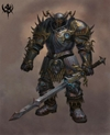 Warhammer Online: Age of Reckoning - Artwork, war___career___chaos_chosen_t3.jpg