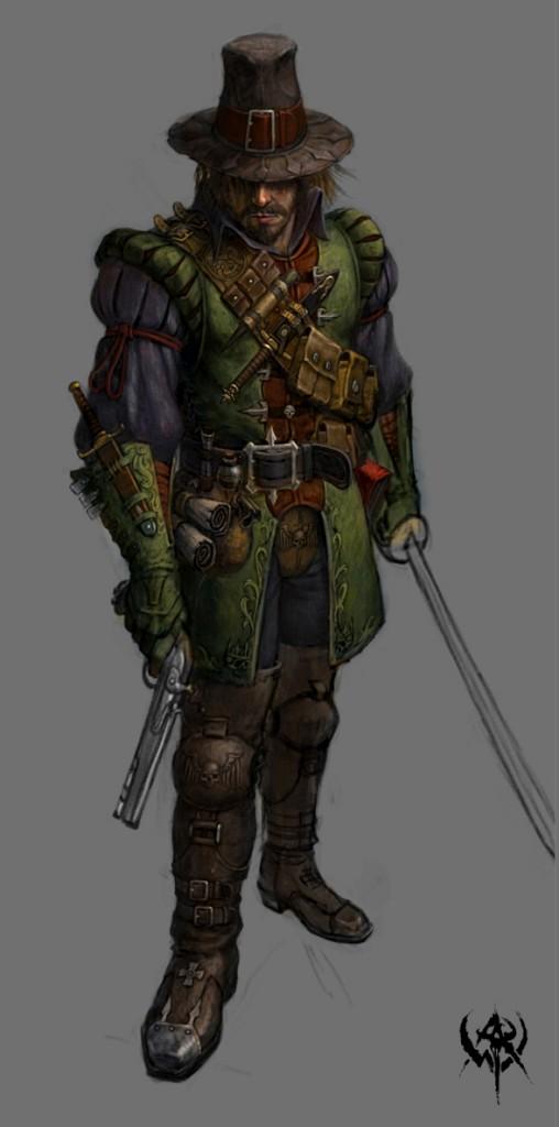 Concept from warhammer online artwork