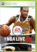 NBA Live 08 Packshot