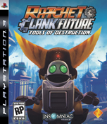 Ratchet & Clank Future: Tools of Destruction Packshot