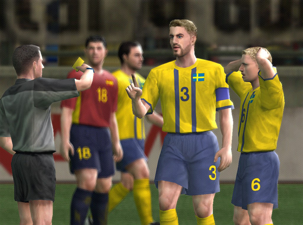 gameSlave, Pro Evolution Soccer 5 image  yellow_card jpg