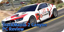 TrackMania 2 Canyon Review